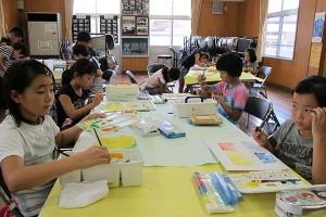 夏休み子ども絵画教室