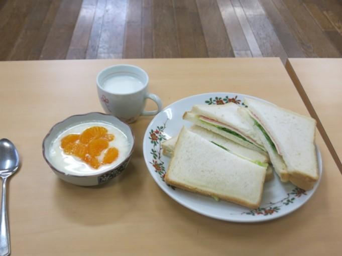 ヒカリっ子特製サンドイッチ完成!